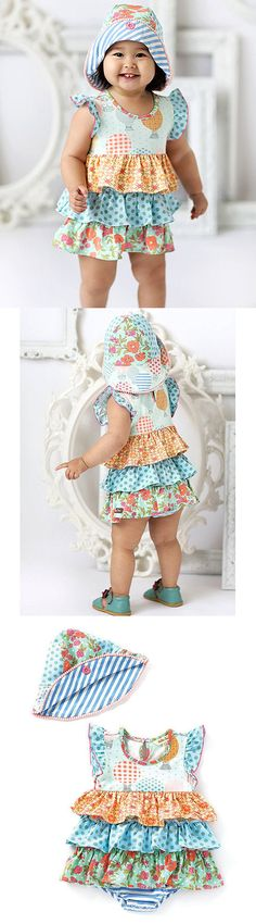8a3ec878750 One-Pieces 57847  Matilda Jane Let S Go Ballooning Romper With Hat Size  12-18 Months Nwt In Bag -  BUY IT NOW ONLY   49.95 on eBay!