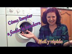 Cómo limpiar la lavadora muy fácilmente   How to clean the washing machi...