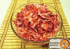 Ешьте такой салат 3 раза в день 2 дня подряд и Вы очистите кишечник и организм от всего лишнего и похудеете до 2,5 кг за 2 дня.