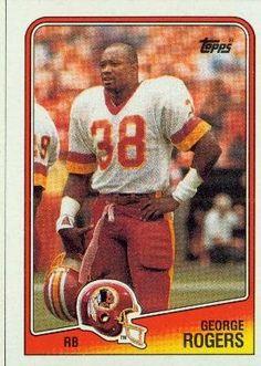 George Rogers Washington Redskins (Football Card) 1988 Topps #9 by Topps. $0.59. 1988 Topps #9 - George Rogers