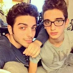 .Gianluca and Ernie (brother)