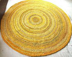Bathroom rugs yellow