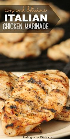 You have to make this Easy Italian Chicken Marinade - our entire family loves it. It is frugal and the kids devour it.