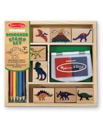 Melissa and Doug Toy, Dinosaur Stamp Set. Still available to deliver by Christmas!