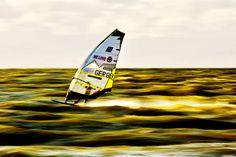 Gunner Asmussen....windsurf slalom