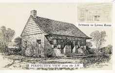 This is the 1678 Demarest home said to be the oldest home in New Jersey.