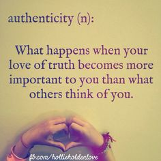 The definition of authenticity