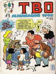 El TBO, no podia faltar en la compra semanal... Time In Spain, Nostalgia, Curious Cat, Childhood Toys, My Memory, Comic Covers, Comic Art, Manga Anime, Retro Vintage