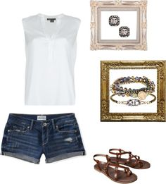 """""""Summer Casual"""" by icrbernal on Polyvore"""