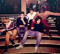 The boys being themselves:)