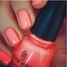 LOVE this coral color