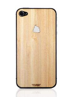 Unko iPhone Cover - Bamboo i want one Iphone 4, Iphone Cases, Cover Iphone, Inspector Gadget, Fab Life, Easter Peeps, Bamboo Cutting Board, Tech Accessories, Cool Designs