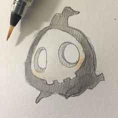 If only real ghosts were this cute lol #duskull