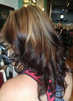 Gorgeous reverse ombre done by jessie at hair theater brunet Hair Color And Cut, Hair Color Dark, Ombre Hair Color, Hair Color Balayage, Hair Highlights, Reverse Ombre Hair, Reverse Balayage, Hair Heaven, Hair Dos