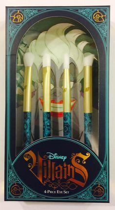 SOHO Disney Villains Ursula 4-piece Eye Set