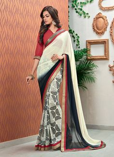 http://www.sareesaga.com/index.php?route=product/product&product_id=19916 Style	:	Designer Saree	Shipping Time	:	10 to 12 Days Occasion	:	Party Festival	Fabric	:	Georgette Colour	:	Multi Colour	Catalog No.	:	SS-2461 Work	:	Print Lace For Inquiry Or Any Query Related To Product,  Contact :- +91 9825192886
