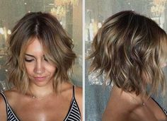 Angled bob front and side