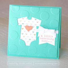 Something for baby girl. Stampin' Up!