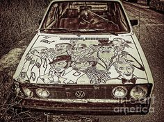 Alan Ford Vw Print By Miso Jovicic