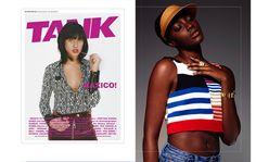 Tank Magazine x Larissa Hadjio Visor larissahadjio.com
