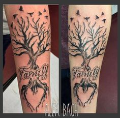 Artistic and Stylish Matching Family Tattoos for Brother and Sister
