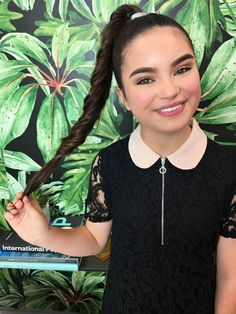 Landry Bender Gets Real About Her Long Hair