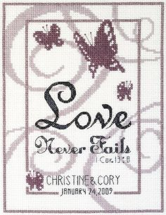 Wedding Sampler Cross Stitch Patterns
