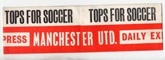 1963 FA CUP FINAL MANCHESTER UNITED HEADBAND BY DAILY EXPRESS | Flickr - Photo Sharing!