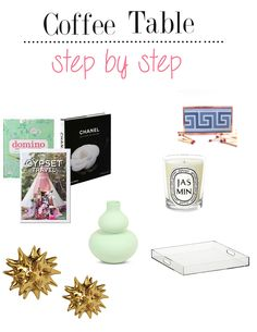 Coffee Table Ideas - Sisters in the City