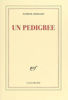 """En utilisant la première personne, P. Modiano raconte son enfance et sa jeunesse : tous les thèmes, les ambiances, les personnages qu'on a pu croiser fugitivement dans son oeuvre sont ici recousus par l'utilisation du """"je"""". Mais loin d'être une autobiographie, ce récit est donné sur le ton du constat bref et s'apparente à un interrogatoire. Des clés pour lire ou relire l'ensemble de ses romans. Cote : R MOD"""