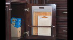 Cutting boards inside cabinet?