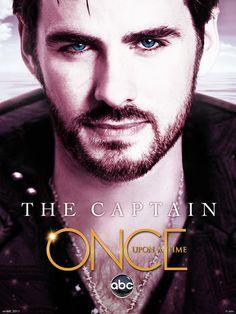 Captain Hook promo pic... Amo #OUAT!!!! En espera de la 3era temporada!!!!