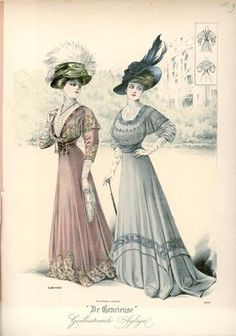 De Gracieuse, May 1908, Edwardian Fashion Plate