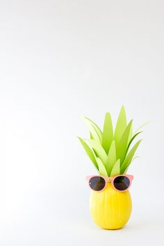 DIY Pineapple Pumpkin