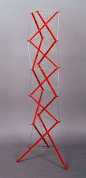 Kenneth Snelson Tensegrity Structures Concrete Sculpture, Steel Sculpture, Atelier Theme, Geodesic Sphere, Plaza Design, Tensile Structures, Organic Structure, Built Environment, Fun Math
