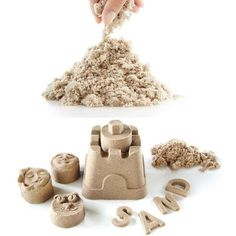 The Kinetic Stretchable Polymer Play Sand Lets You Bring the Beach Indoors #sandcastle #beach trendhunter.com