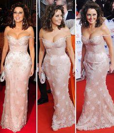 Carol Vorderman, lacy lady at National Television Awards | Celebrity News | Showbiz & TV | Daily Express