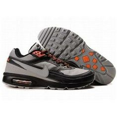 http://www.asneakers4u.com/ 358797 005 Nike Air Classic BW SI Grey Black Orange D01078