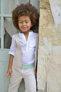 83cc40d0ac8f9 La tenue des enfants d honneur  Les Petits Inclassables. Tenue Mariage  Petit GarçonCostume ...