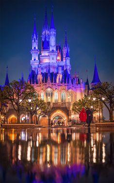 PHOTOS: Tokyo Disneyland at Night