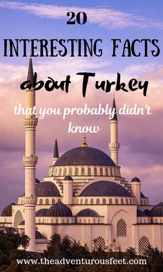 Fun facts about Turkey that you didn't know - The adventurous feet