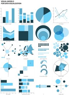 Visual Models for Data Visualization by Stefania Guerra, via Behance