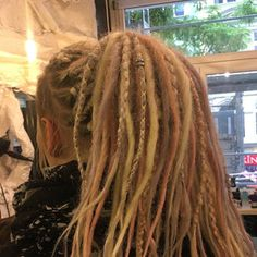 This item is unavailable Gray Hairstyles, Summer Hairstyles, Beautiful Dreadlocks, Grey Hair, 100 Human Hair, Etsy App, Ombre Hair, Dreads, Brown And Grey