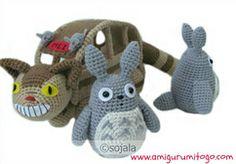 Ravelry: Grey Totoro Free Crochet Pattern pattern by Sharon Ojala