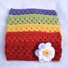 Granny Stripe Headband/Earwarmer