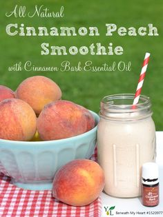 Essentially Summer Recipe Series #oilyfamilies #essentialoils Cinnamon Bark Oil