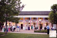 A beautiful evening at Eagle Tavern -Kristen Taylor Photography