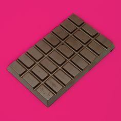 Chocoladereep • Puur 70% | Deze reep van 100 gram per stuk is gemaakt van extra pure 70% melkchocolade.