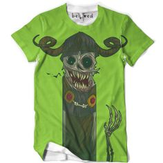 """Presenting """"The Lich"""" tee by Jouste. Get your Adventure Time swag on! :)"""