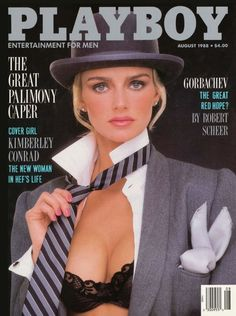Kimberley Conrad Hefner, Playmate Of The Year 1989, January Playmate 1988